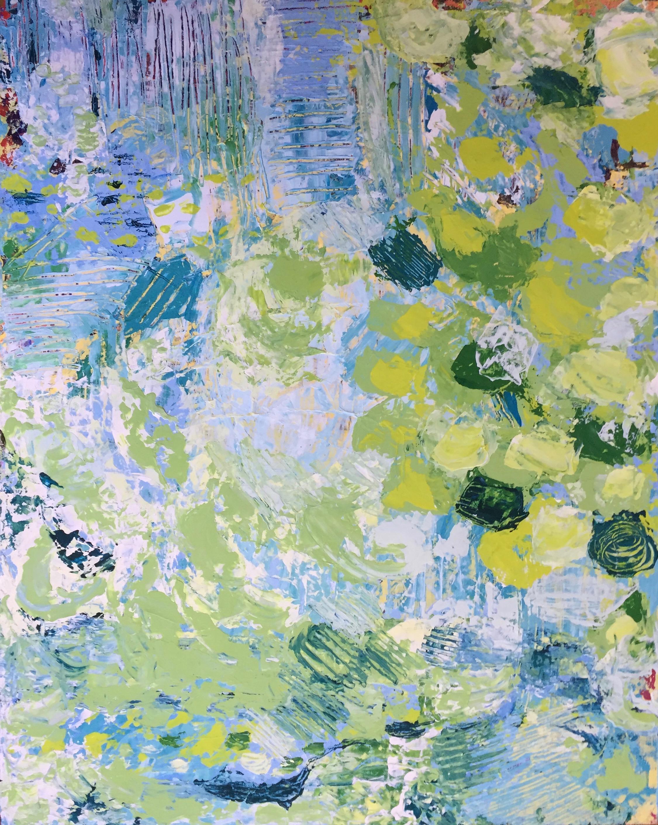 "Shallow Waters 16"" x 20""  Acrylic on Panel"