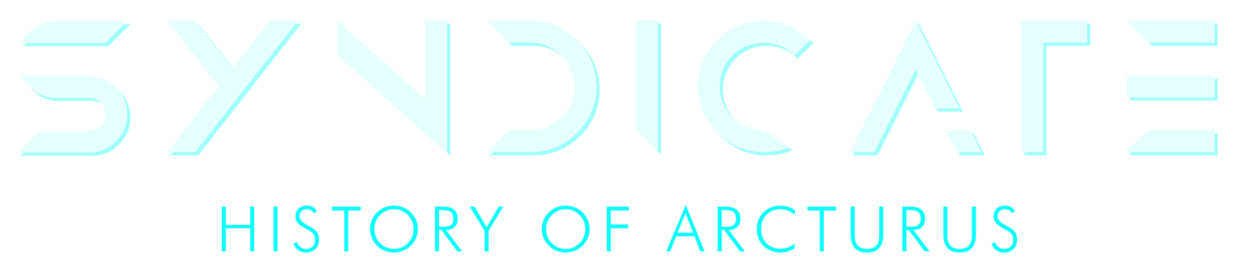SYNDICATE 2019 Game logo HISTORY OF ARCTURUS