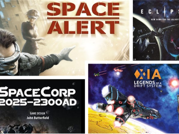 4 of the Best Space-focused Sci-fi Board Games (or Least 4 of Our Favorites)