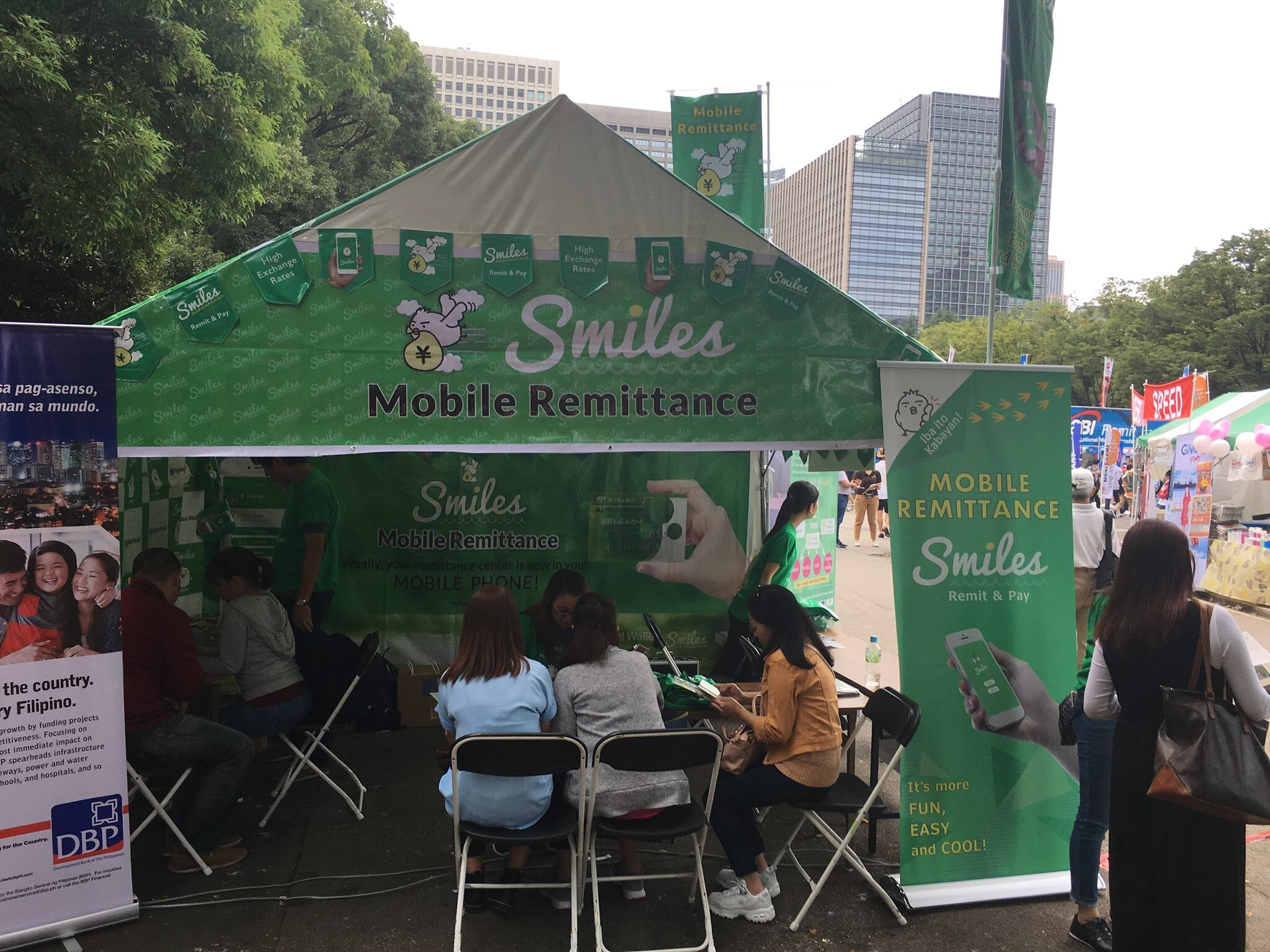 Smiles Booth on Philippine Festival 2017