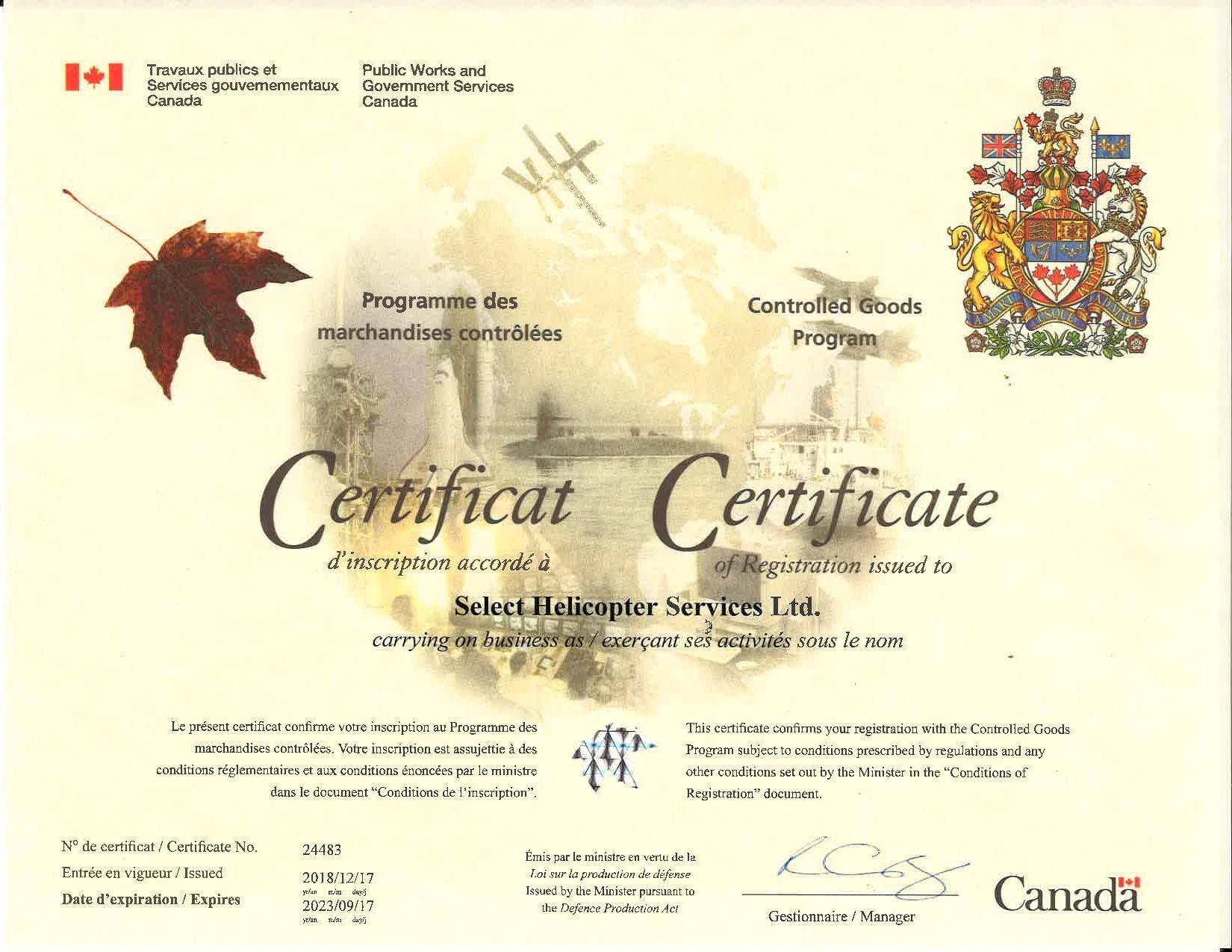 Controlled Goods Program Certificate.jpg