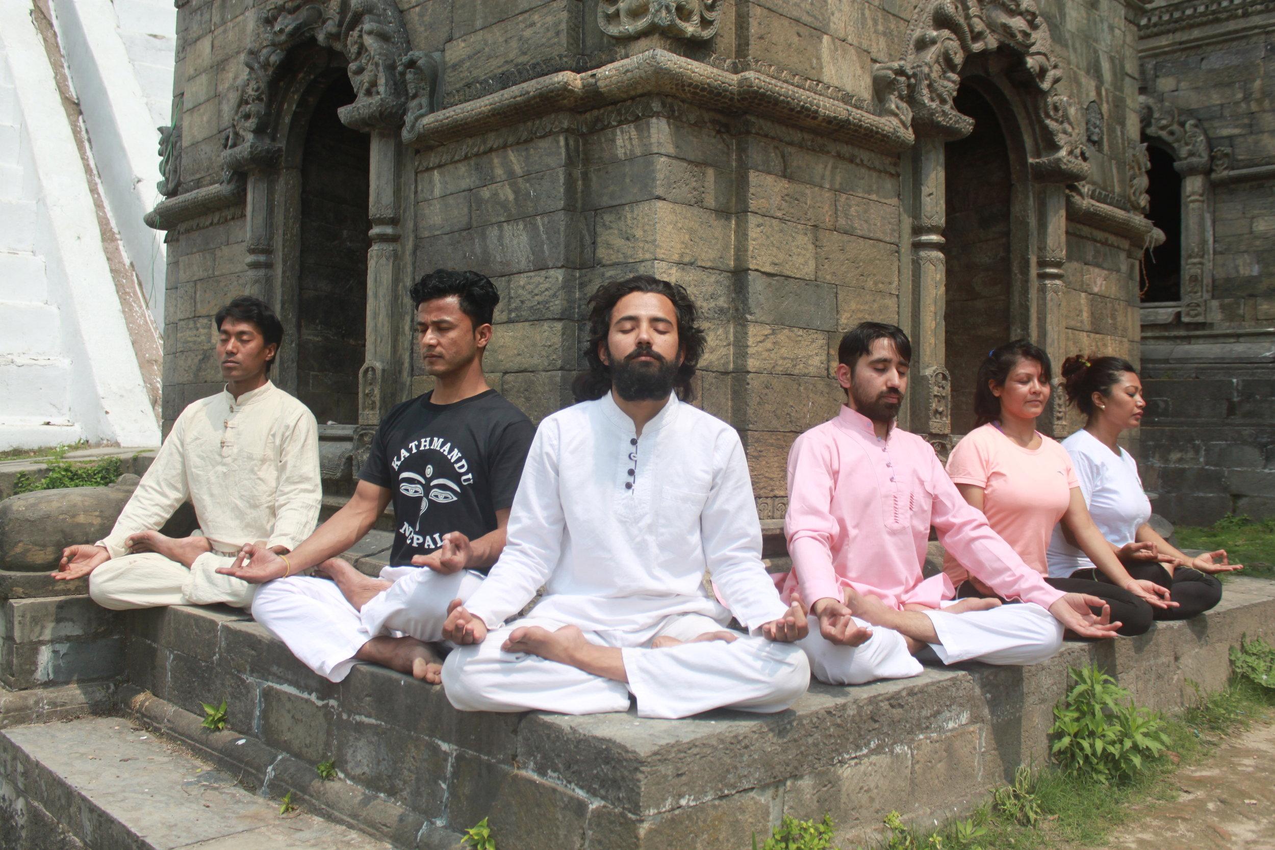 divine yoga# nepal yoga.JPG