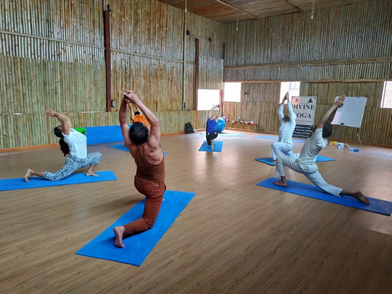 Divine Yoga#Bestyogainkthmandu.jpg