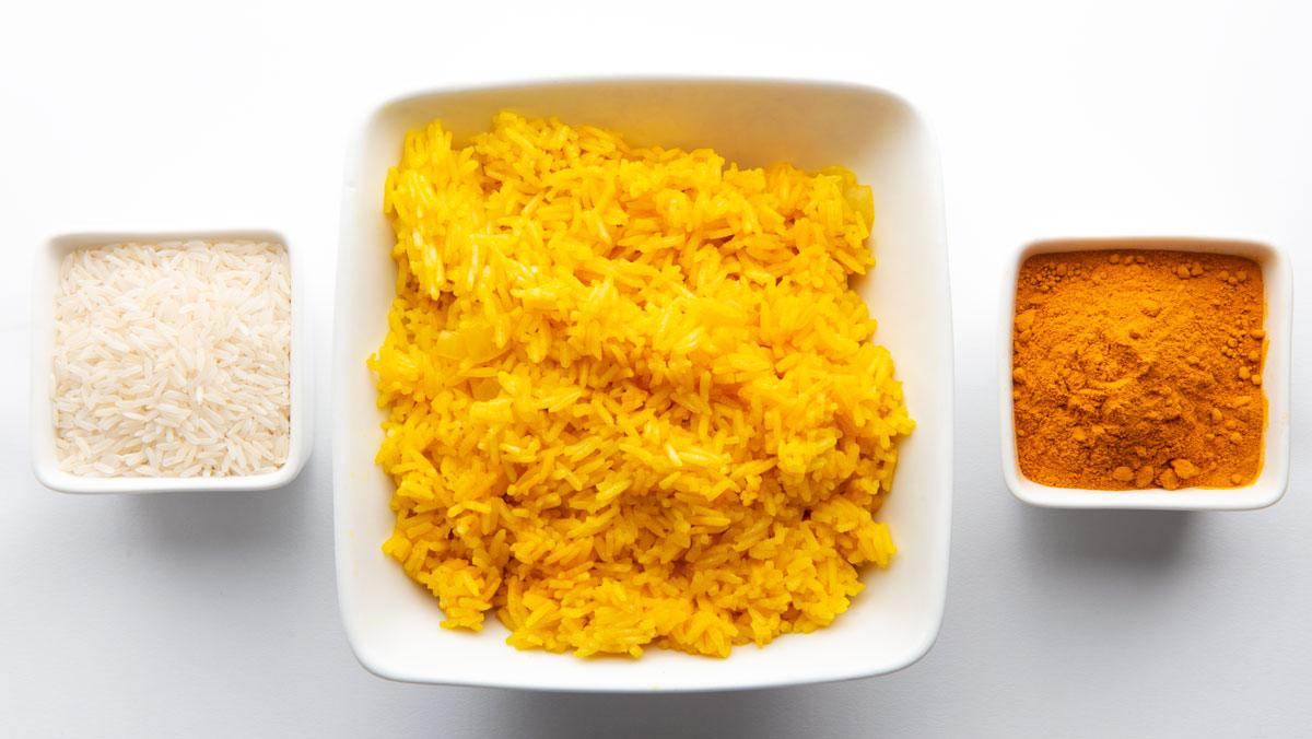 Tumeric Rice - BrambleRamble