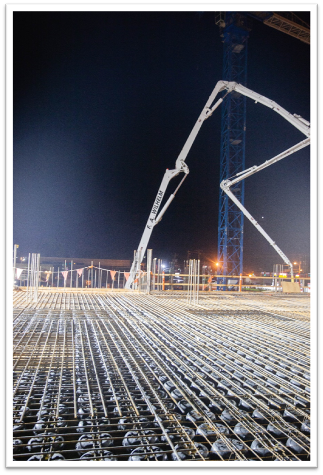 The Placing Begins  — Concrete in voided concrete slabs is placed in two sequential steps that ensure slab integrity.