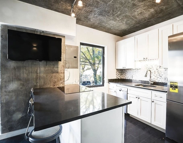 Popular Finishes. The varnished concrete finishes contrast very nicely with the modern kitchen surfaces, making the end result very attractive for tenants.