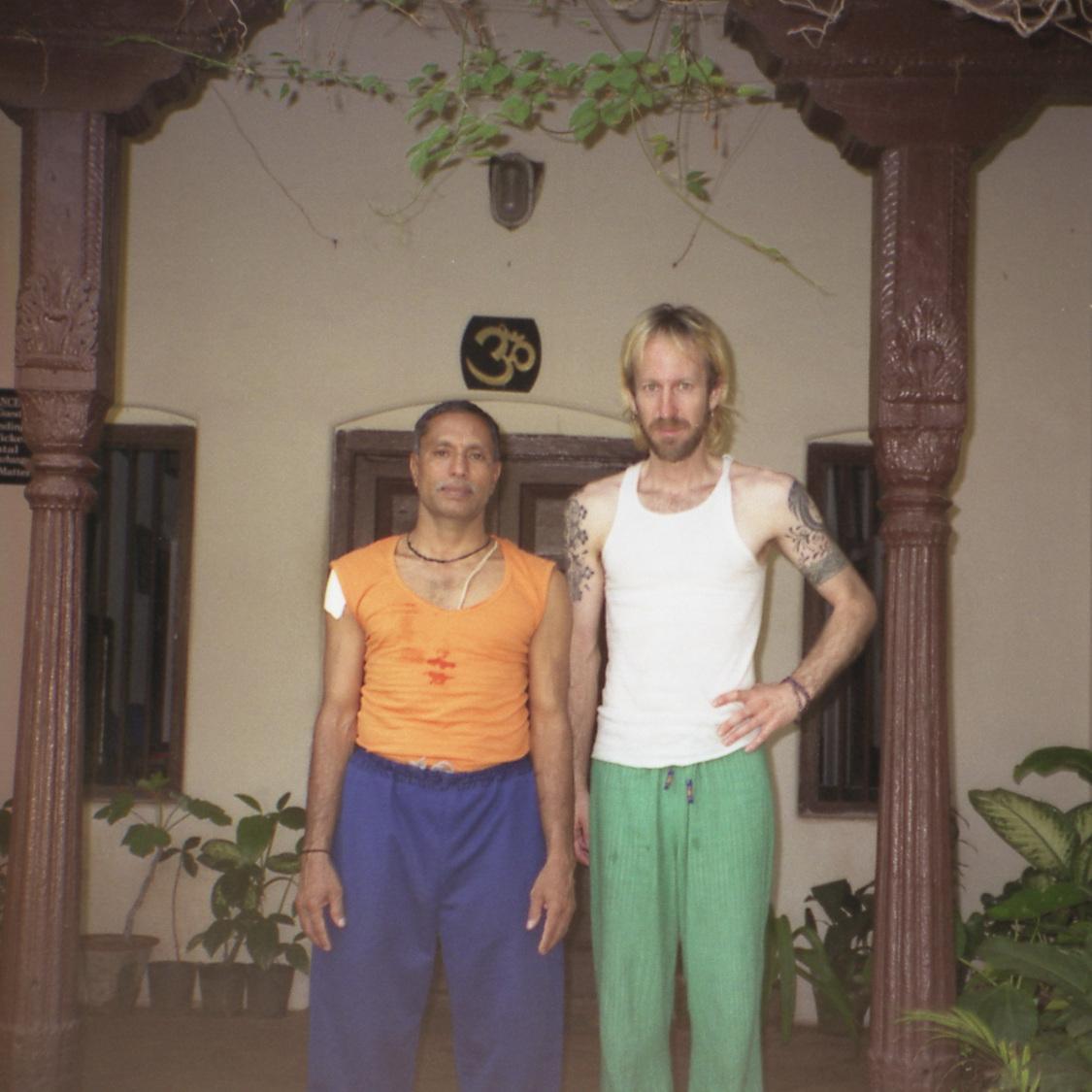 With  V. Sheshadri  – Mysore, India