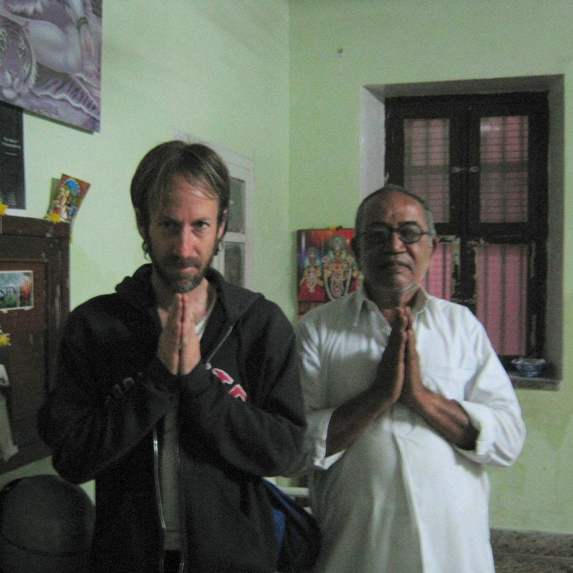With  BNS Iyengar  – Mysore, India