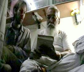 With  Nagaraja S. Pande  – Mysore, India