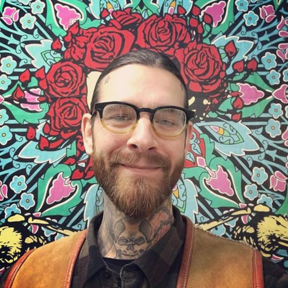 Nicolas Budner tattoo artist