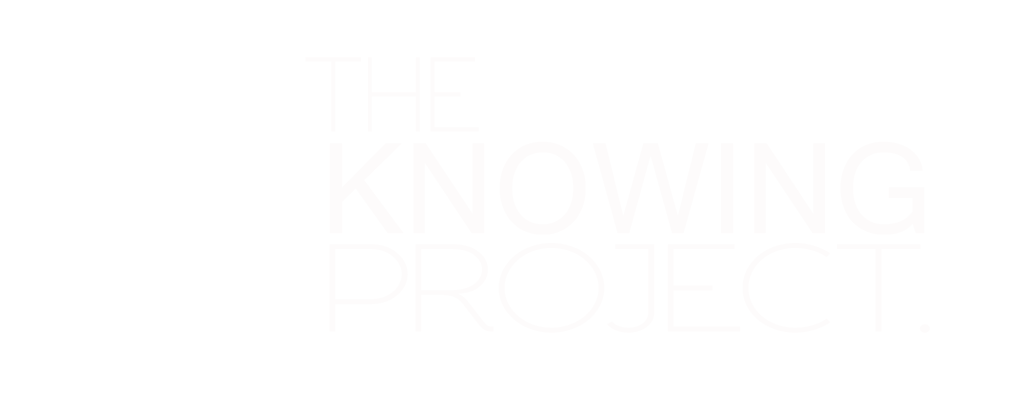 knowing project white logo transp bkground.png