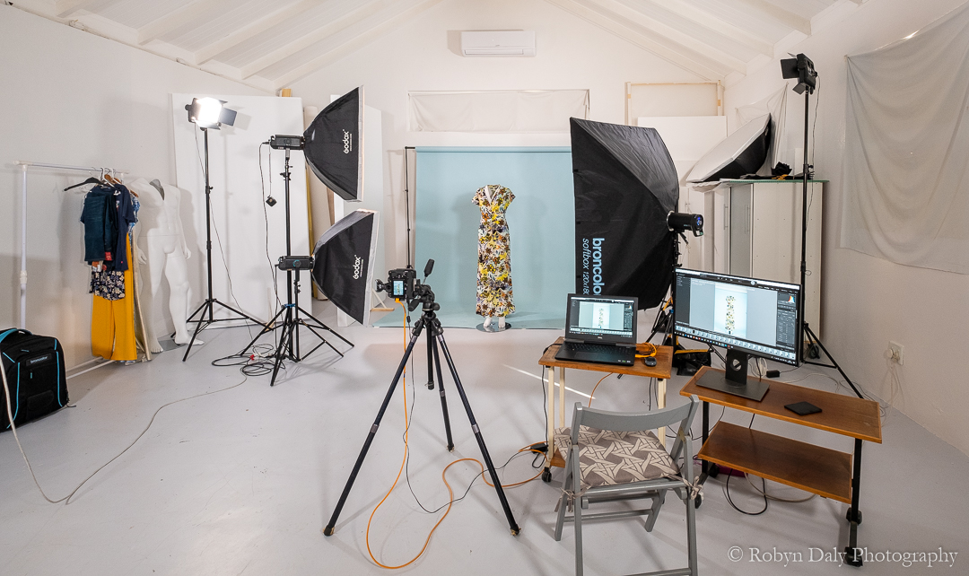 A fully equipped studio on site means cost-effective shoots as clients don't have to pay for studio and lighting rentals.