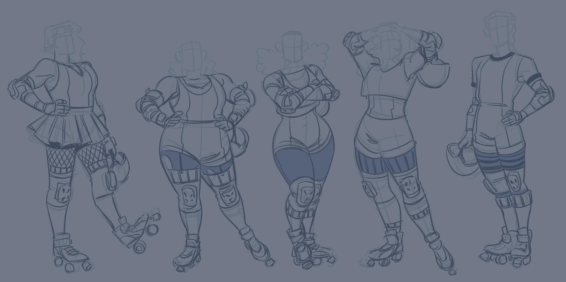 Roller Derby Uniforms