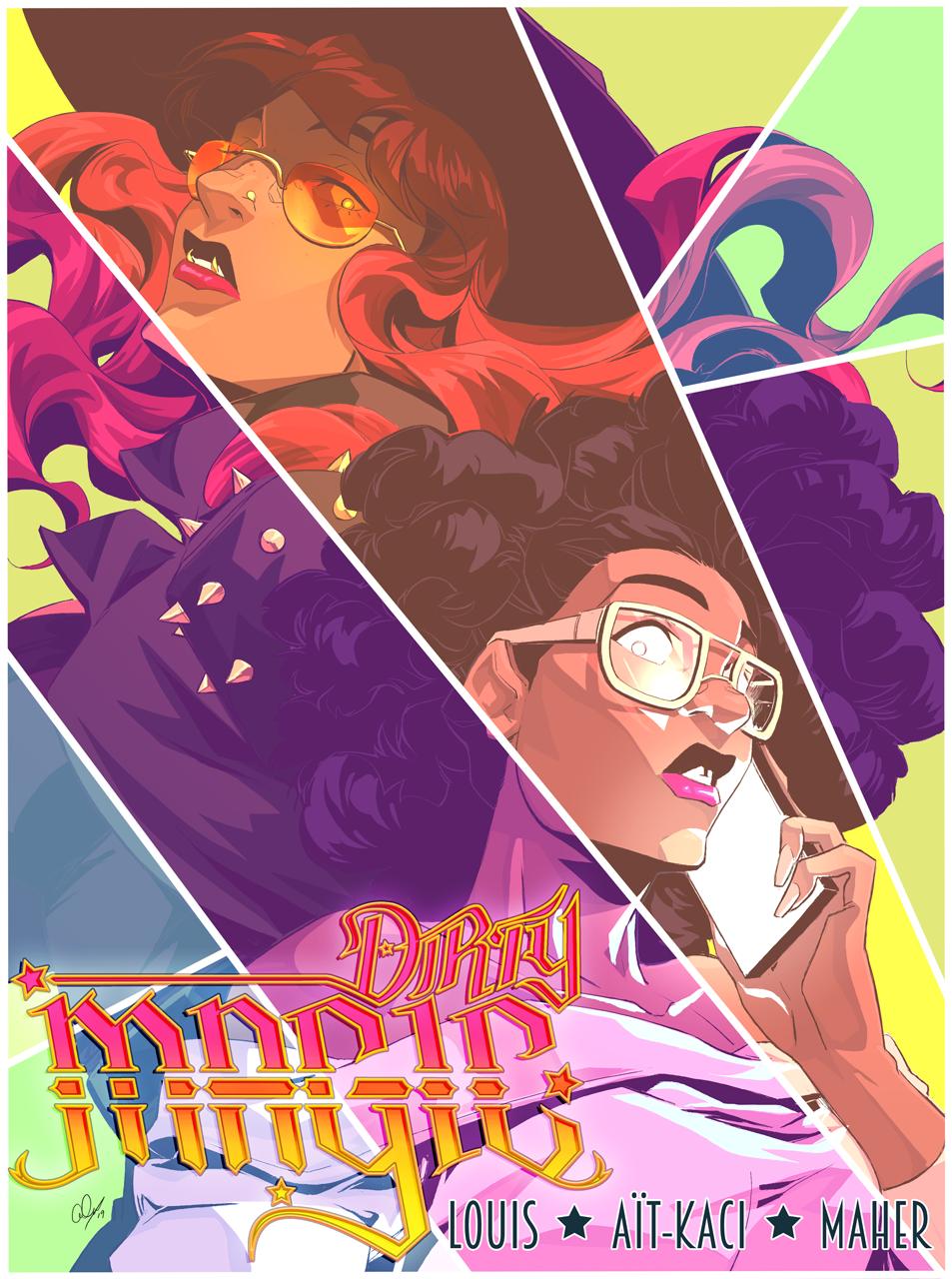Dirty Magic Promotional Illustration