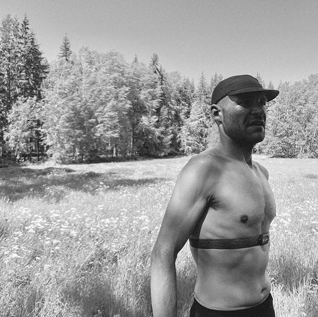 """Quality time with great people, in nature, off grid...like medicine for body, soul and mind"" _____ Stef taking time post tempo under the hot Swedish sun. He's training for the Xtreme Triathlon ICON in August, Iron Man distance with insane elevation - you got it Stef!"
