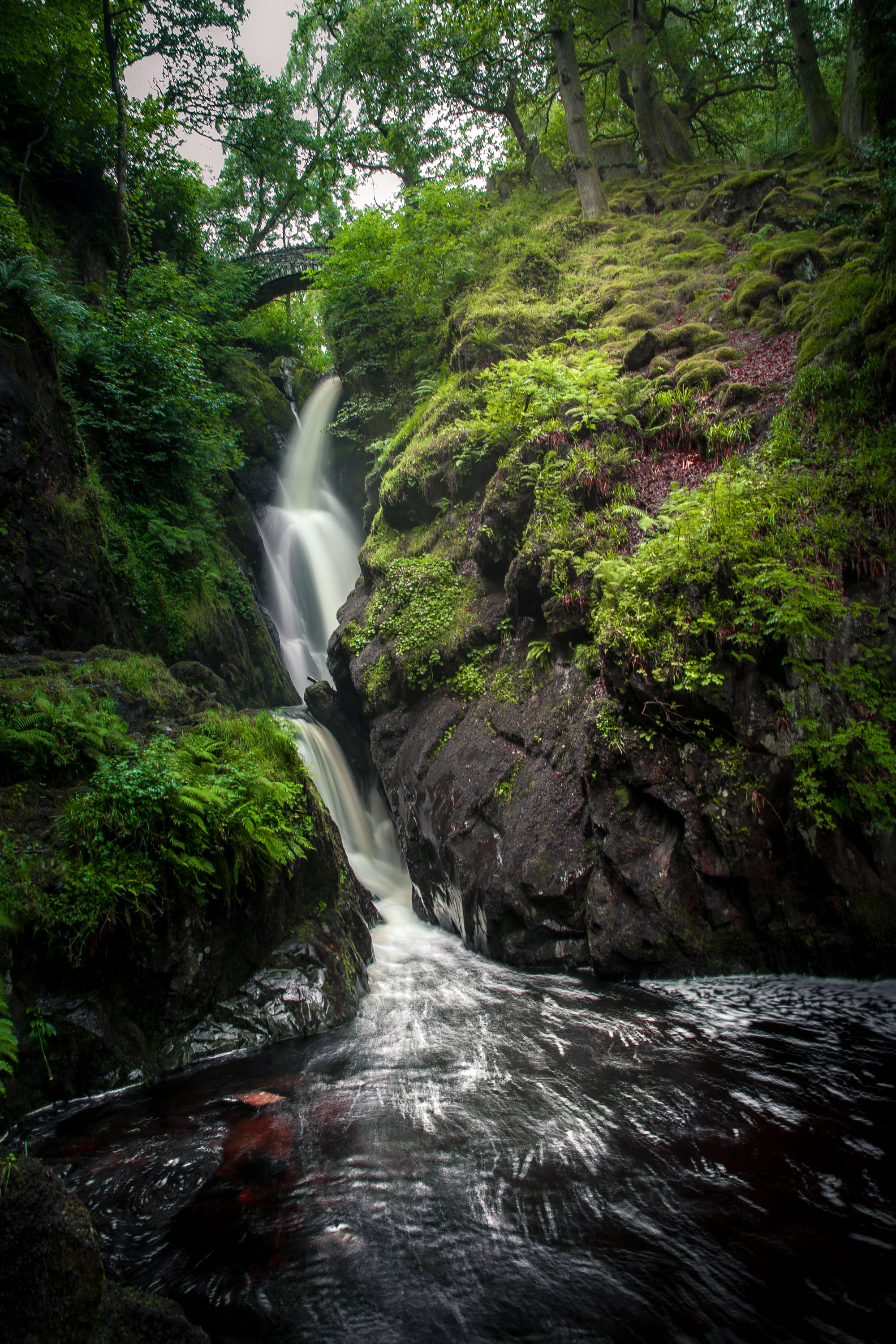Aira Force Waterfall, The Cumbrian Lake District - England (2016)
