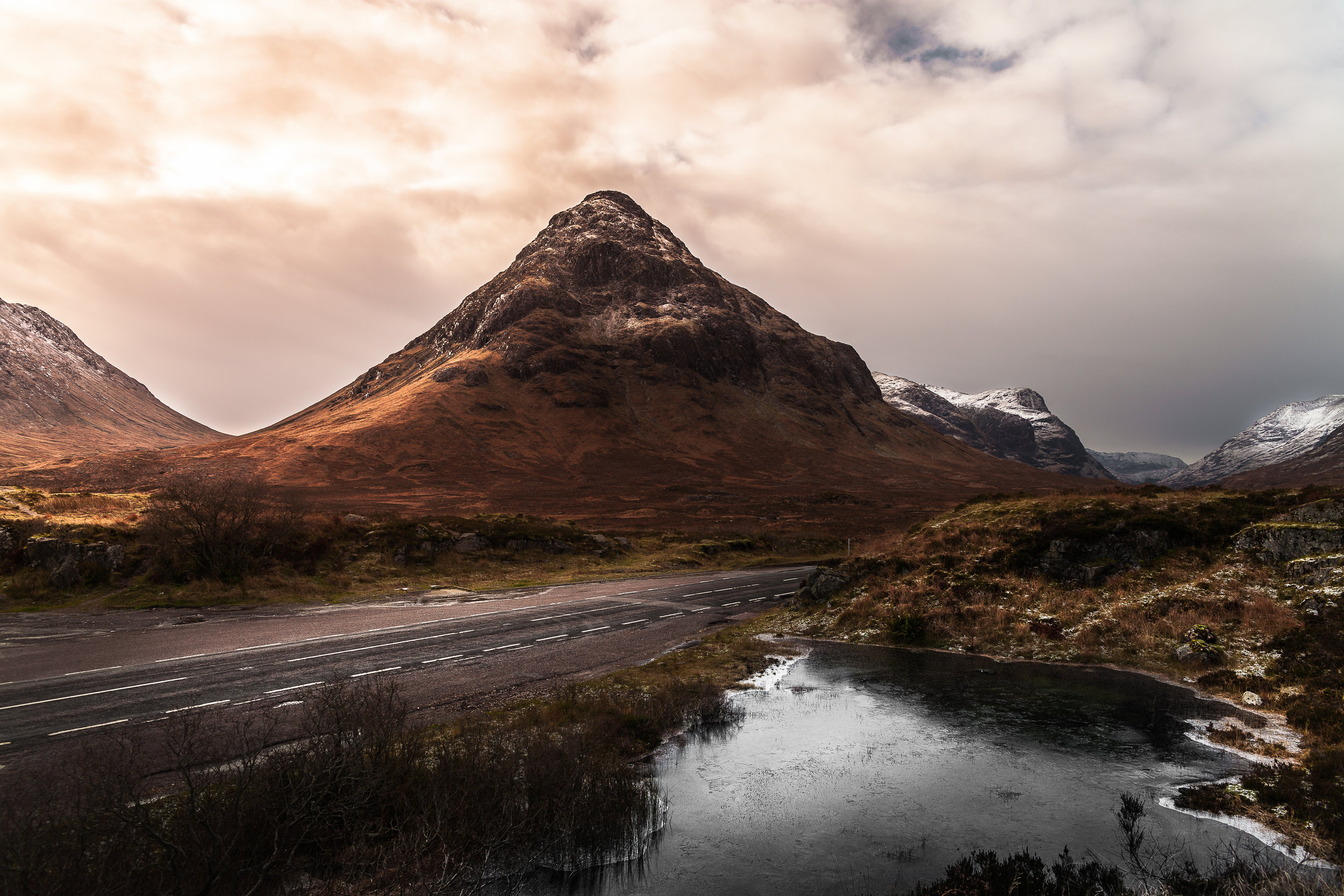The Etive and The Frozen Pond. Glencoe - Scotland (2015)