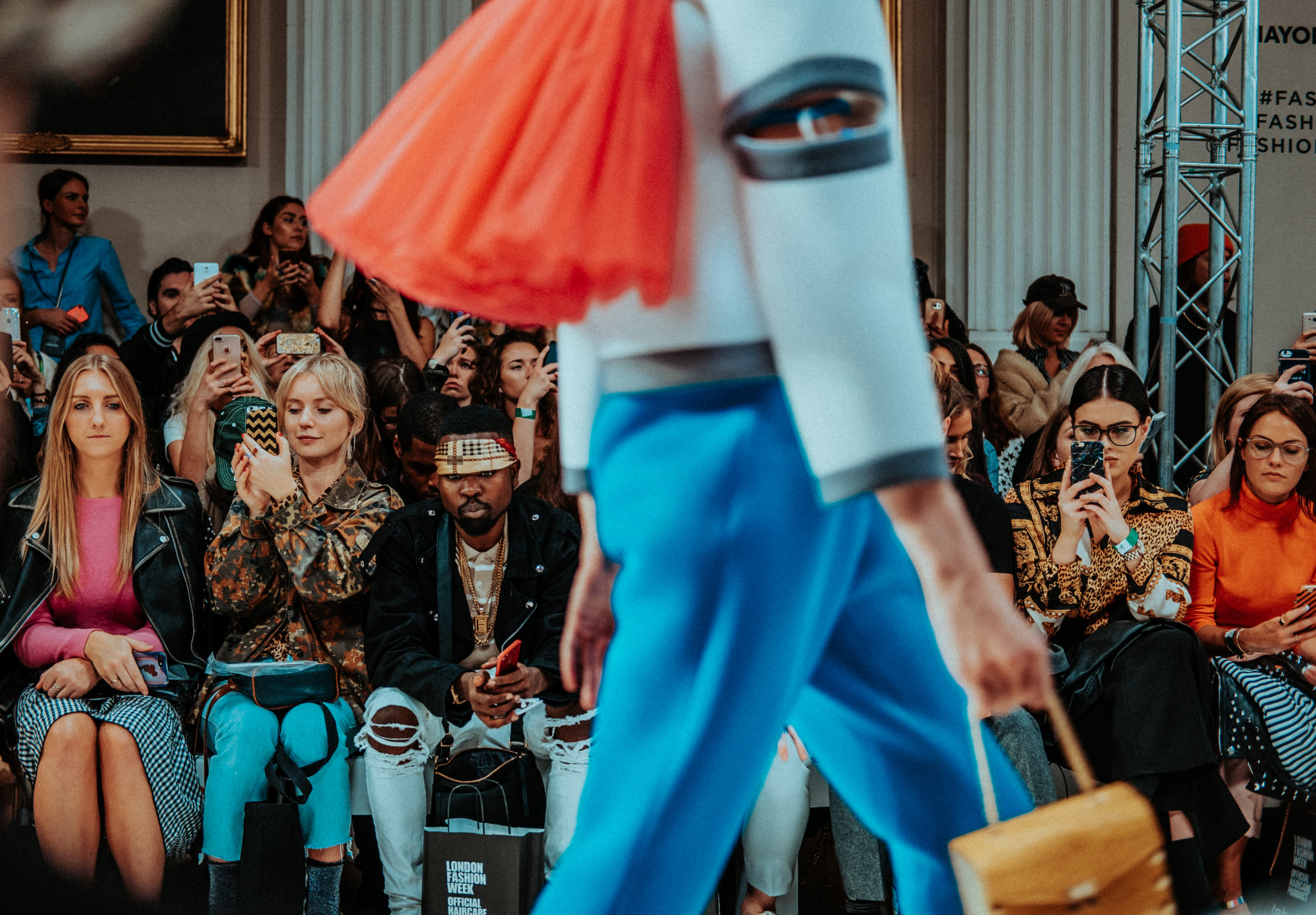 """London has become the first of the main fashion weeks to ditch animal fur in its shows after the British Fashion Council… said none of the designers participating on the official schedule would be using it."" - - Scarlett Conlon, The Guardian, Sep. 7, 2018"