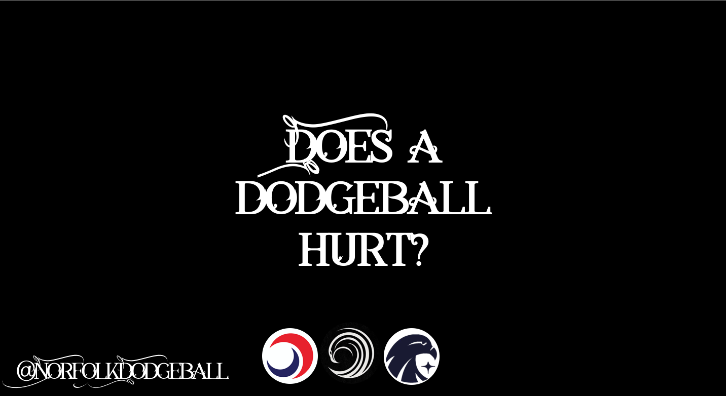Not too much! - A dodgeball is a rubber ball covered in cloth so generally will not hurt upon contact, however catching with incorrect technique, a fast enough throw or a hit to more delicate areas may sting for a couple of seconds. We have some of the highest quality coaching in order to minimalise this, for our team of course!