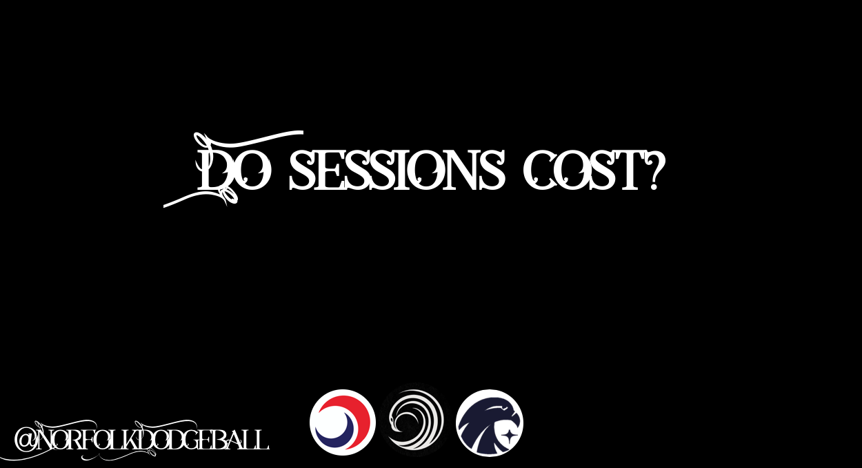 £3 - Each session with us only costs £3 to attend, this is to cover the usage of the hall and is comparable to most sports clubs within the UK. Any excess from sessions go towards funding socials, charity and tournaments!