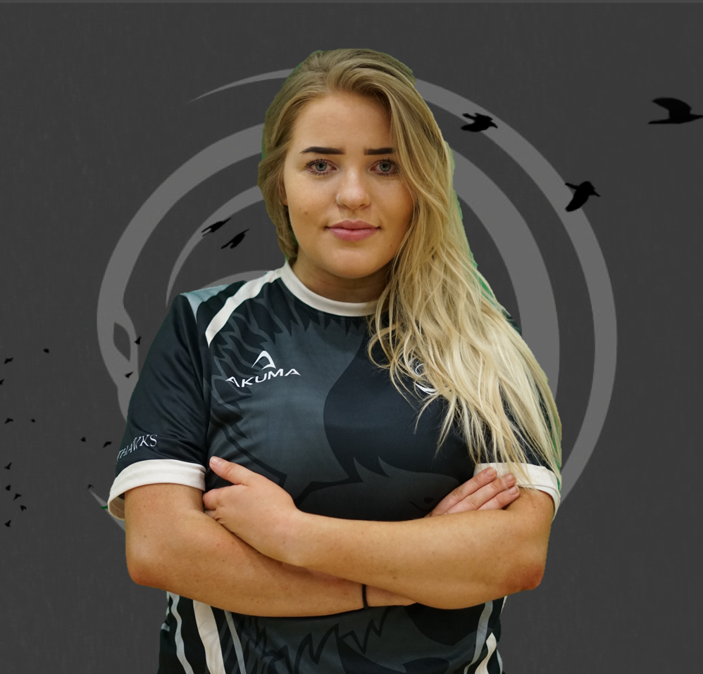 Leah Bassett - Started: 2017Affiliations:-UEA Falcons, E.A Valkyries