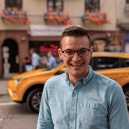Michael Venturiello - Michael is the founder and lead tour guide of Christopher Street Tours. When he is not giving tours, Michael is working on a historical fiction novel about the Stonewall Uprising. He enjoys all of the various coffeeshops of NYC, as well as Broadway shows, flowers in parks, and learning more about LGBTQ history.Best NYC Spot: Gay Street (name aside...!)Favorite NYC Moment: Sitting in Washington Square Park in the spring, with iced coffee, listening to the piano man play classical musicLocal Recommendation: Dollar pizza is actually good...!I Give Tours Because...I think this history is so important, and it's important to share with others. I also love meeting people from all over the world, and walking around my favorite neighborhood!Contact Me: michael@christopherstreettours.com