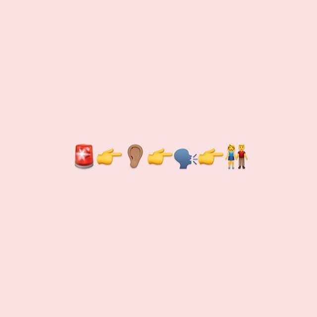 In honour of #WorldEmojiDay, here are some tips on how to help someone who's #mentalhealth may be at risk - in emoji form: 🚨Asses for risk of suicide or harm 👂🏽Listen non-judgementally 🗣Give re-assurance and information 👫Encourage appropriate professional help, self-help, and other support strategies