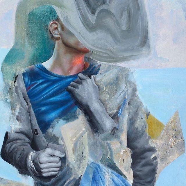 Starstruck (Detail), oil on canvas. @jackfischergallery San Francisco. #artsanfrancisco #missionart #artsf #californiaart #bayareaart #bayareaartist #artcollector #figurativeart #contemporarypainting #figurativeart