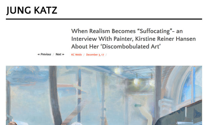Jung Katz Interview, 2017