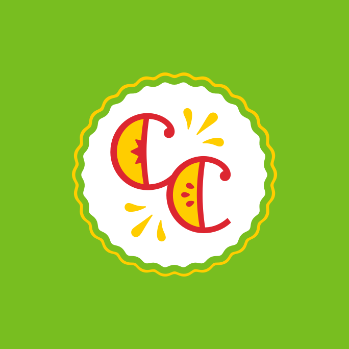 "- The chosen logo design incorporates a CC monogram—with peach and apple slices—nestled neatly inside a pie-like badge shape. This mark fully embodies one of Cobbler Cove's signature mantras: ""Fresh Fruit Baked Daily."" In order to build more depth into the identity, we also developed a secondary mark to encapsulate Cobbler Cove's promise of traditional, wholesome, goodness."