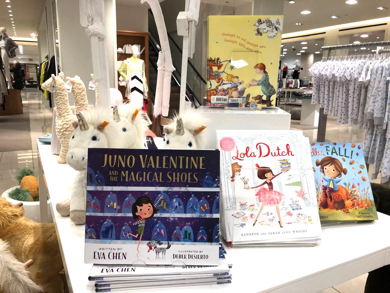 Spotting Eva Chen's published children's book - Juno Valentine!