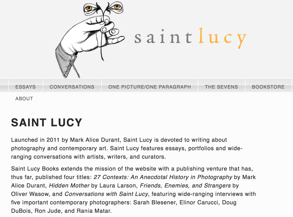 Karolina Karlic: Rubberlands  featured on    Saint Lucy by Mark Alice Durant.