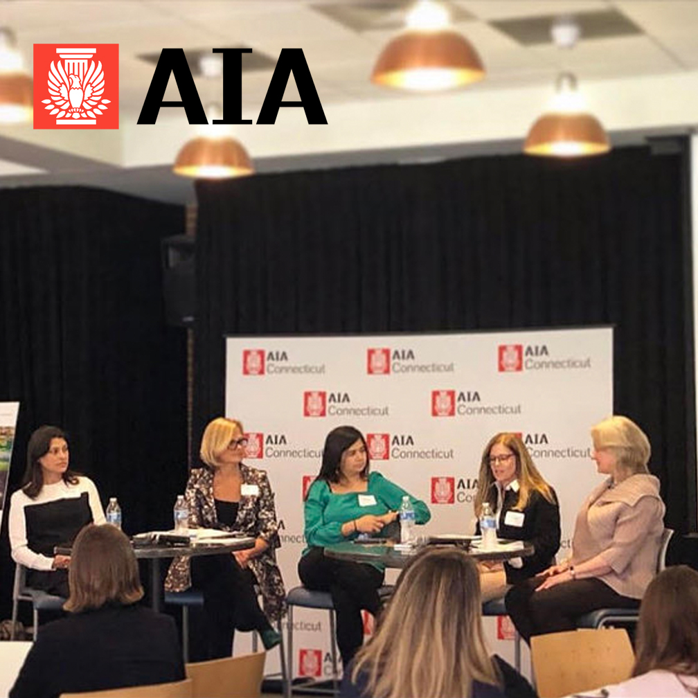 Path to Leadership in Design   Join the inaugural event for the newly created Women in Architecture group of AIA Connecticut. On Tuesday, April 23rd, 2019, principal Ming Thompson will be taking part in a panel exploring the topic of The Path to Leadership in Design. Panelists will be exploring ideas for architects at all stages to move their careers forward. We'll also be launching a mentorship program to connect younger practitioners with more established mentors.  The Women in Architecture Committee of AIACT seeks to build a more equitable profession that will better represent and serve our society. We celebrate and encourage the success and leadership of women in architecture through educational outreach and mentoring, professional development, and community engagement.  Event registration  here .