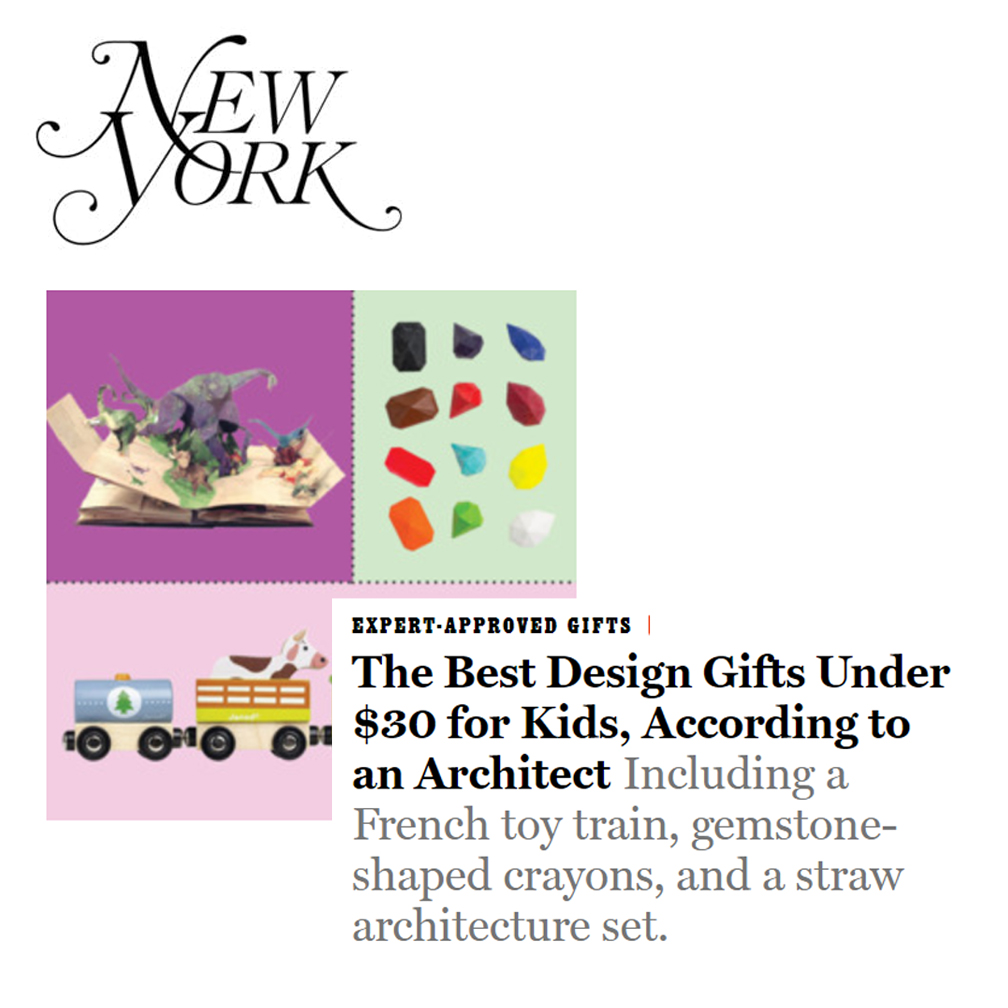 """Design Gifts New York Magazine   Ming is a frequent contributor to New York Magazine's """"The Strategist,"""" offering advice on design. See her  gift guide here for design gifts for kids."""