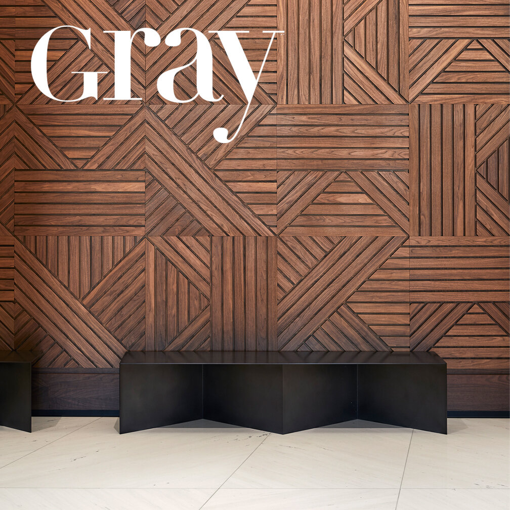 Gray Magazine   ACT's work for the Summer St Lobby is featured in the October 2019 issue of Gray Magazine in a feature on Lisa Picard, the innovative CEO of EQ Office. Learn more about the project  here .