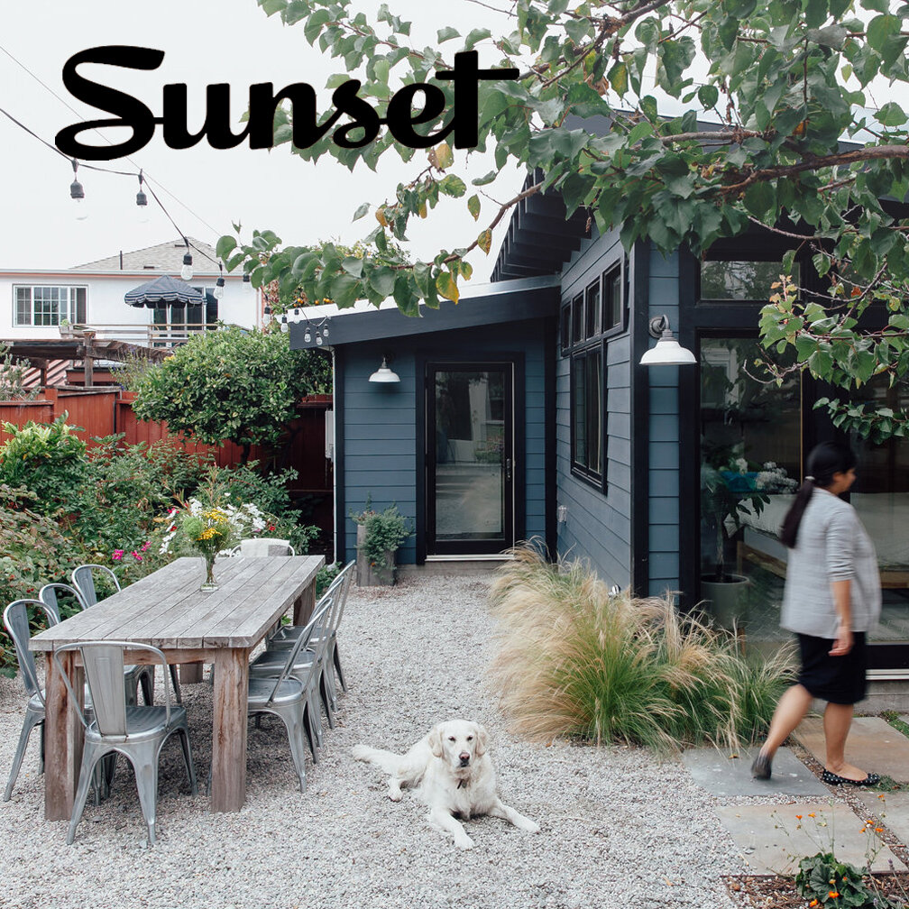 """Sunset Magazine   ACT""""s work on the Garden Home is featured in Sunset Magazine online. The article details our collaboration with the homeowners on a vision for a multi-function cottage. Click  here  to learn more about the project."""