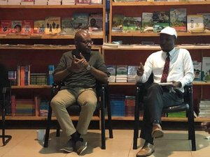 Meet the Author at  Arise Bookshop , Kigali, Rwanda - 2018