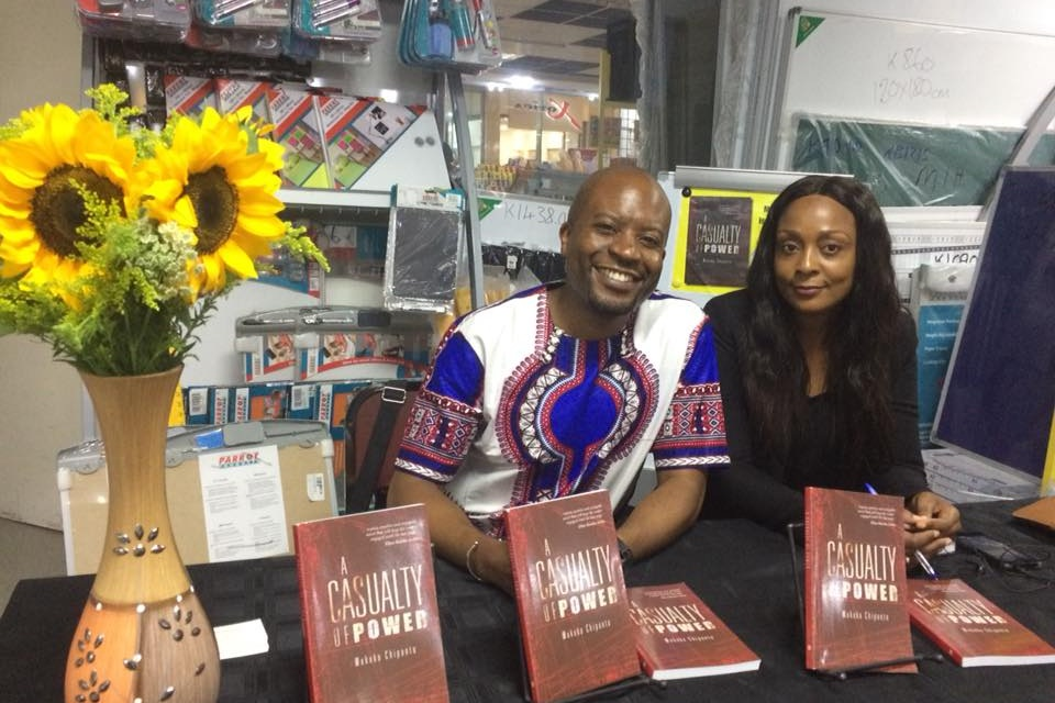 Book signing at BookWorld, Manda Hill, Lusaka, Zambia - 2017
