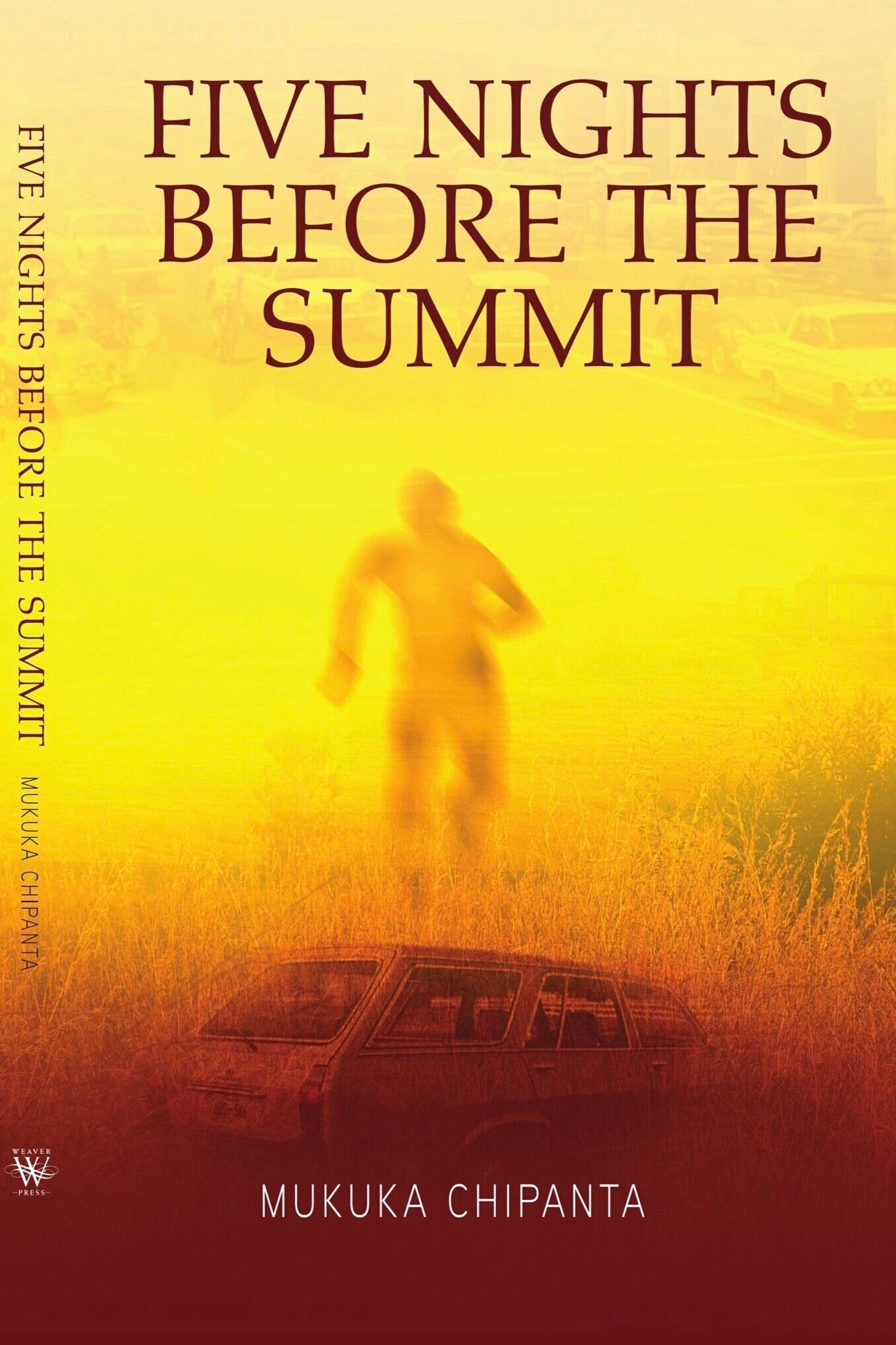 Five Nights Before The Summit - It is 1979. The First Commonwealth Heads of Government Summit on African soil is due to take place in Zambia, graced by Queen Elizabeth herself. Barely a week before this much anticipated event, a white British couple, Henry and Laura Hinckley, are brutally killed on their farm on the outskirts of the capital city, Lusaka. The unknown perpetrators are at large, their motive unclear. Fearing a media backlash, the British government applies pressure on the Zambian authorities to bring the culprits to book, threatening to cancel the Queen's trip altogether – a move that would result in huge embarrassment for the Zambian government.Detective Maxwell Chanda, head of the Special Crimes Investigative Unit, is the man tasked with leading the investigation. He is a wise, steady hand, but will he be able to piece together the seemingly disparate evidence in just five days? Will he be able to hold firm under the intense political pressure which insists on putting expediency above accuracy?Five Nights Before The Summit is Chipanta's second novel published by Weaver Press, Zimbabwe.