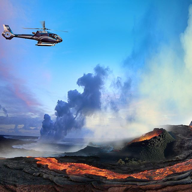 If you are vacationing on the Big Island of Hawaii do not miss the Circle of Fire Tour! #bigisland #helicopter #hawaii #lava