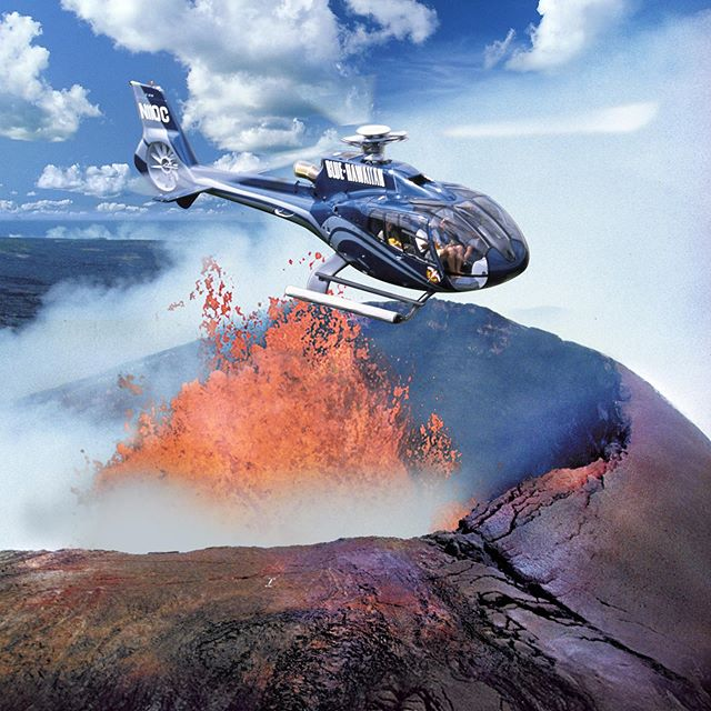 The Circle of Fire Helicopter Tour is an epic way to get to the lava without getting hot! #bigisland #hawaii #helicopter