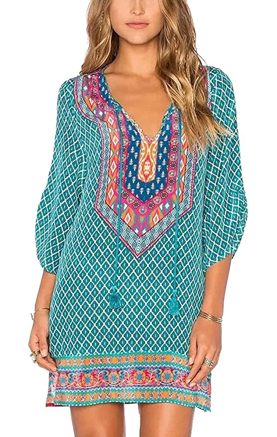 What to wear over a bathing suit? Try a tunic!