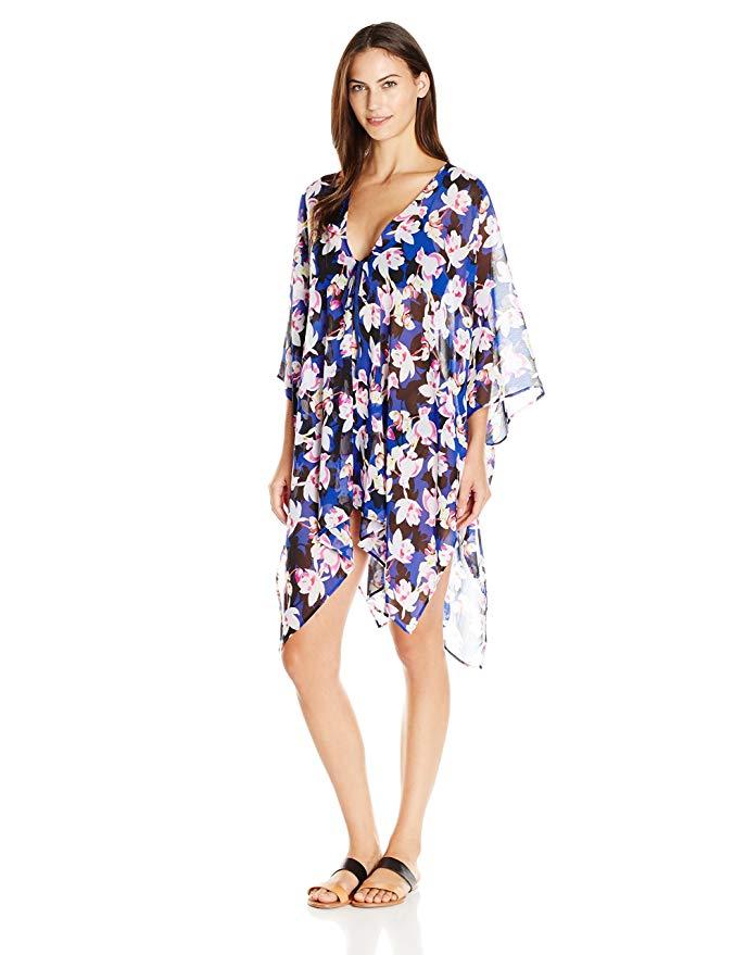 Ellen Tracy Women's Kimono Cover Up
