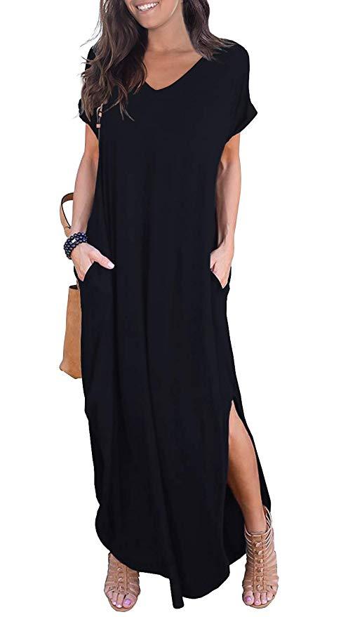 Black Maxi Dress Cover Up