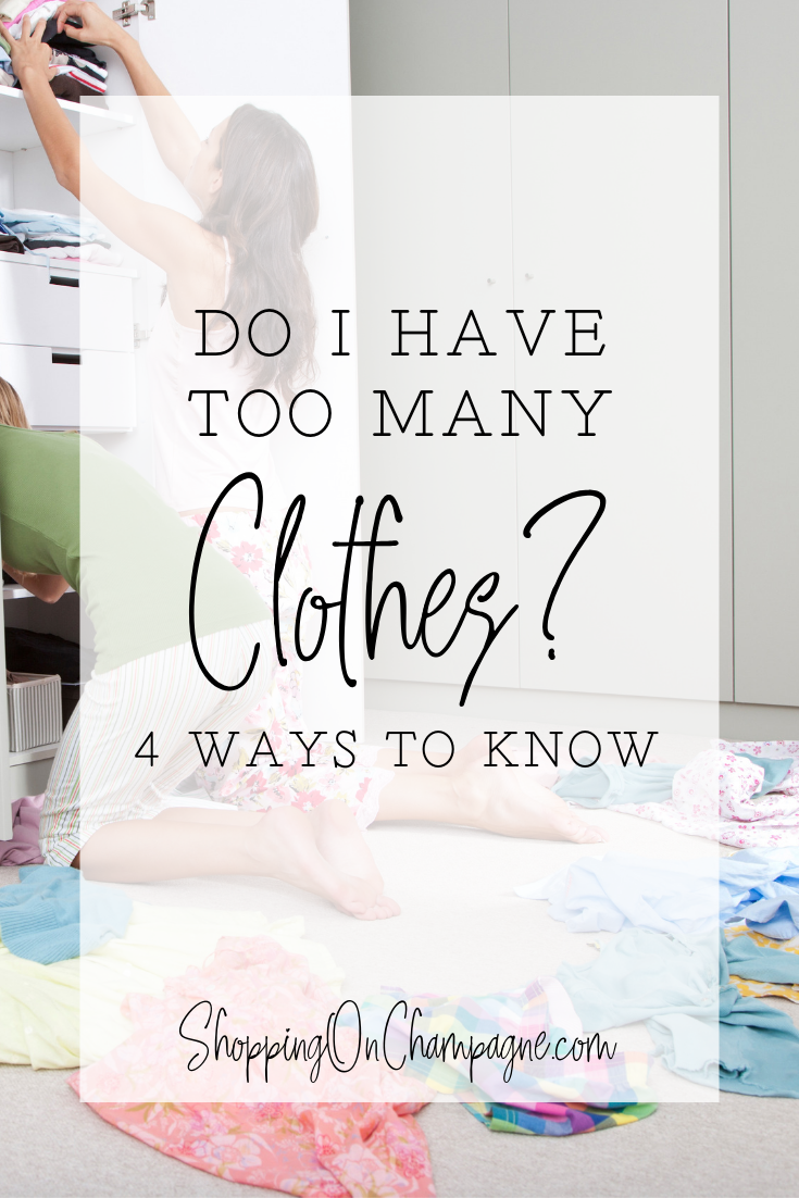 Do I have too many clothes? Click here to find out!