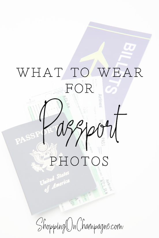 What to Wear for Passport Photos