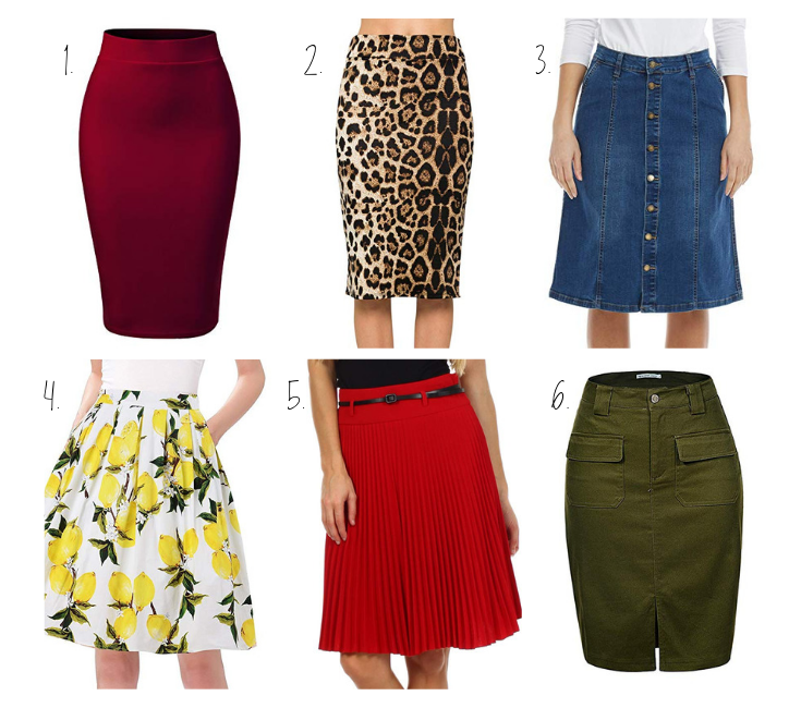 What Knee Length Skirt Suits You Best?