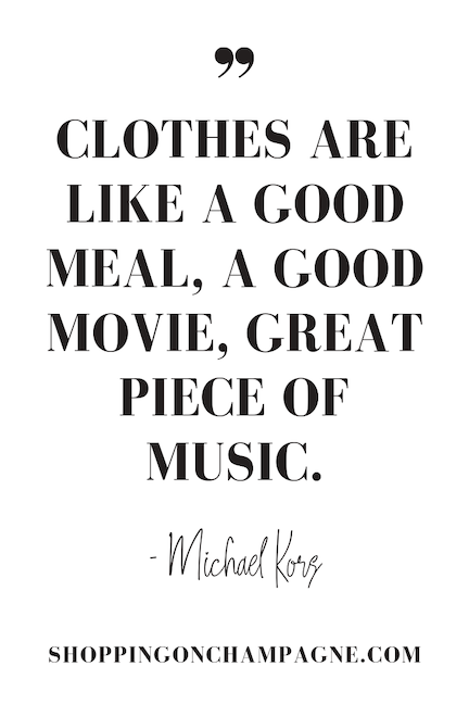 Fashion & Style Quotes