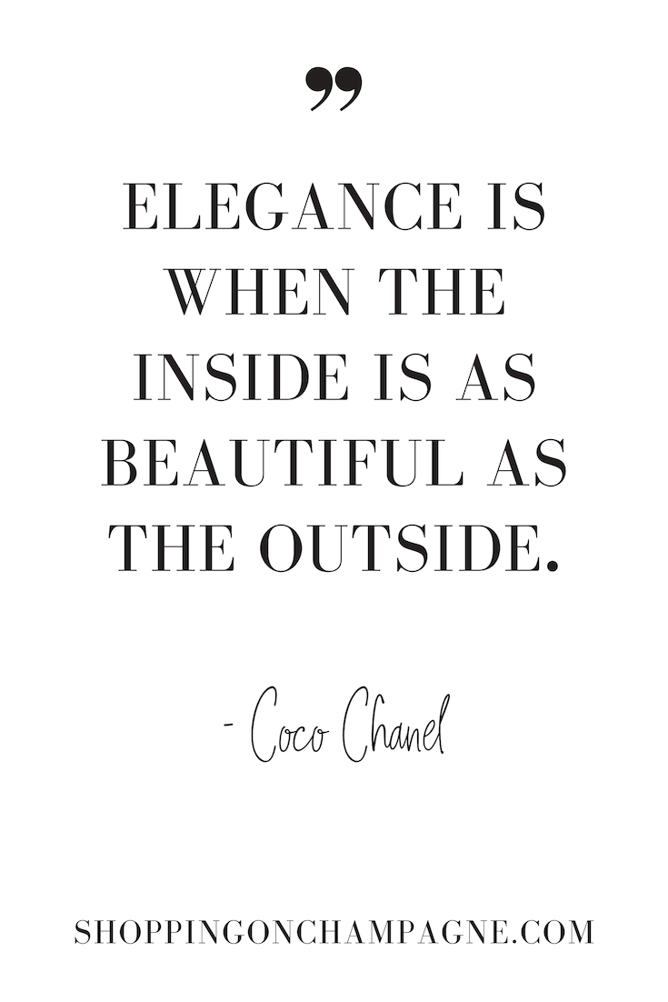 101 Fashion Quotes Shopping On Champagne