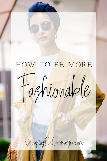 How to Be More Fashionable - Try a Capsule Wardrobe!